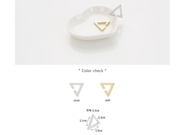 BTS [ACC] BTS Simple Triangle Ear Cuff 4 aa83